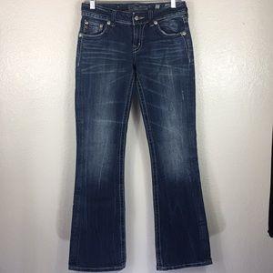 Miss Me Size 27 Denim Jean Pants Medium Wash